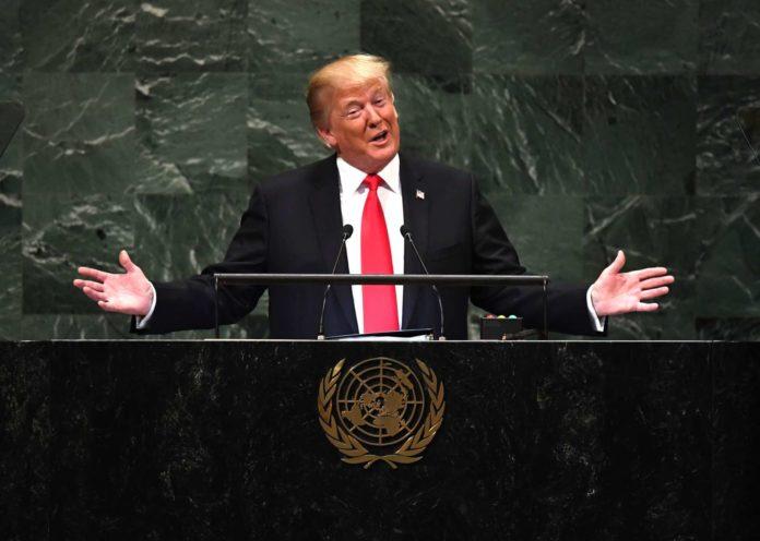Donald Trump prahlt vor der UNO mit seinen Leistungen und ruft zur Isolation des Iran auf.