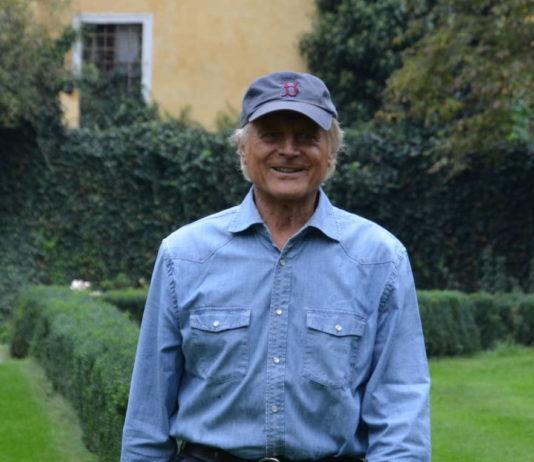 Terence Hill gestern im Schloss Mühldorf.