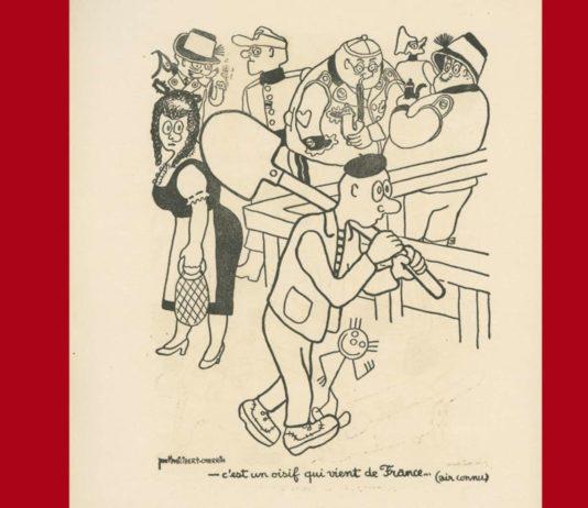Über 80 Karikaturen, Zeichnungen und Plakate von Paul Philibert Charrin sind in der Ausstellung zu sehen.