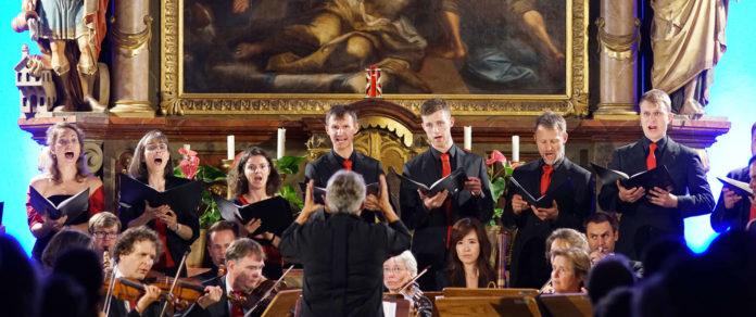 Ein beeindruckendes Konzert in der imposanten Kulisse der Pfarrkirchen Ansfelden.