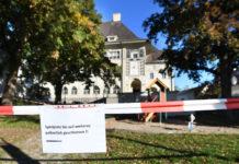 Auf diesem unmittelbar vor einer Volksschule gelegenen Spielplatz im Linzer Stadtteil Alt-Urfahr West kam es Montagabend zur tödlichen Auseinandersetzung.