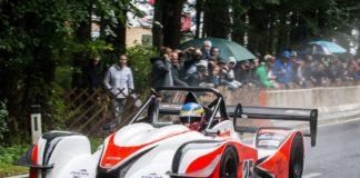 Der Slowene Patrik Zajelsnik trieb seinen Achtzylinder-Norma zu Höchstleistungen und zum Gesamtsieg beim Esthofener Bergrenn-Klassiker.