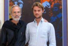 Der aus Gmunden stammende Politikwissenschafter Ilja Luciak mit seinem in Nicaragua vorübergehend festgenommenen Sohn Carl David, der über die regimekritischen Proteste in dem Land berichtet hatte (Bild unten).