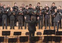Mitglieder des Hard-Chores und Leiter Alexander Koller