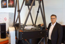 ASA-Geschäftsführer Egon Döberl in der Fertigungshalle der Firma in Kefermarkt