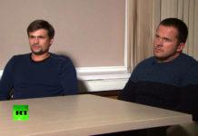 Im September hatten sich die beiden Verdächtigen im russischen Fernsehen als Alexander Petrow (r.) and Ruslan Boschirow (l.) ausgegeben und wollten zum Zeitpunkt des Giftanschlages nur als Touristen in Salisbury gewesen sein. Mittlerweile dürfte ihre wahre Agenten-Identität gelüftet sein.