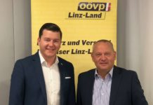 Positive Bilanz für den Bilanz Linz-Land zogen BPO LAbg. Wolfgang Stanek (r.) und BGF Ulrich Eder.