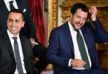 Noch hält der Bund zwischen dem linken Vizepremier Di Maio und dem rechten Vizepremier Salvini.