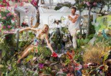 """""""Echt jetzt?!"""": Lois Renner interpretiert Hans Makarts """"Der Frühling"""", vermischt Gemälde und Fotografie."""