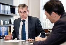 Schaller rechnet frühestens ab dem dritten Quartal 2019 mit steigenden Zinsen.Heinrich Schaller im Interview mit VOLKSBLATT-Redakteur Oliver Koch.