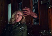 Das Grauen ist ihr ins Gesicht geschrieben: Laurie Strode (Jamie Lee Curtis)