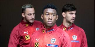 Marko Arnautovic, David Alaba und Aleksandar Dragovic (v.l.) sind im Rückspiel gegen Bosnien am Donnerstag in Wien voll gefordert.