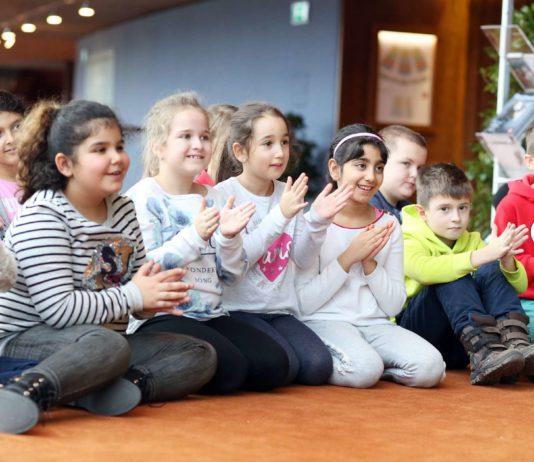 Das Brucknerhaus wird einen ganzen Tag lang von Linzer Musikschülern bespielt.