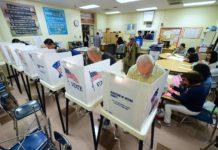Soviel stand gestern fest: Die Wahlbeteiligung war hoch. Wem das nützte, erfährt die Welt heute.
