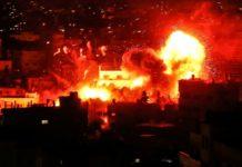 Der Hamas-Sender in Gaza wurde beim israelischen Gegenangriff zerstört.