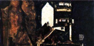 """Die """"Tote Stadt"""" ist ein häufig gemaltes Motiv des Expressionisten Egon Schiele"""