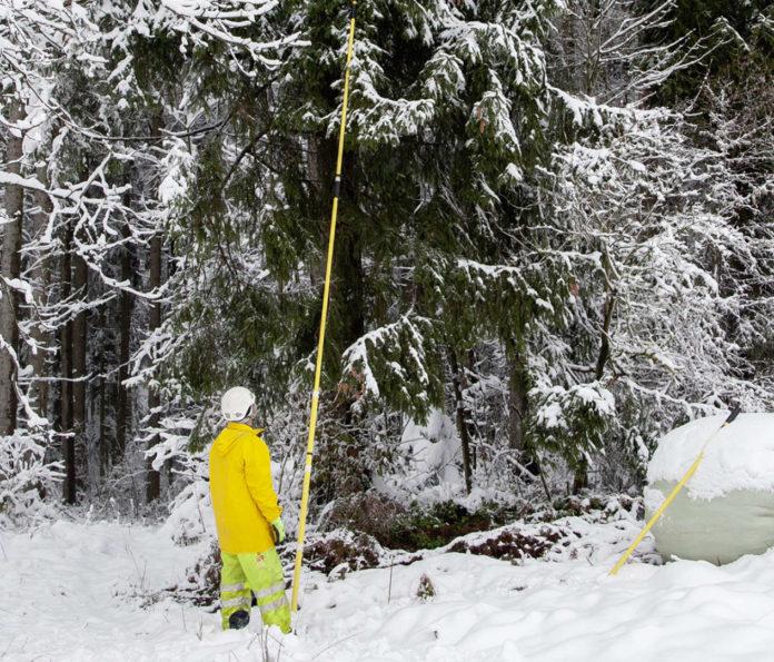 In St. Johann/Walde (Bez. Braunau) gab es bis gestern Vormittag 23 cm Schnee.
