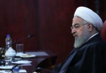 Präsident Rouhani spricht von einem Wirtschaftskrieg gegen sein Land.