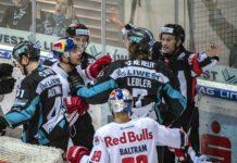 Ende zweier Serien: Die Black Wings hatten den Salzburgern nur im Nahkampf etwas entgegenzusetzen.