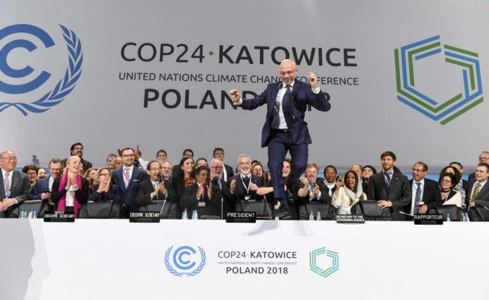 Freudensprünge über die Einigung machte Konferenz-Präsident Michael Kurtyka