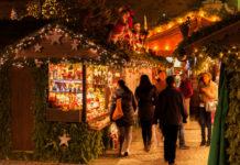 Der Winter hat in Oberösterreich Einzug gehalten. Das erfreute am Samstag die Betreiber der Christkindlmärkte sowie die heimischen Händler.
