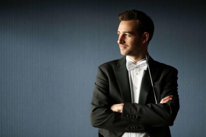 Dirigent Tobias Wögerer