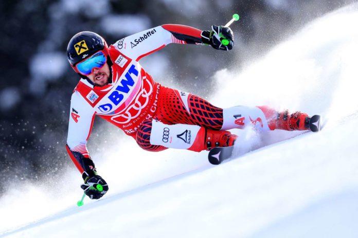 Marcel Hirscher fährt in Val d'Isere um seinen 60. Laufsieg im alpinen Skiweltcup.