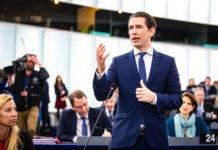 Kanzler Kurz zieht im EU-Parlament eine überwiegend positiv beurteilte Vorsitzbilanz.
