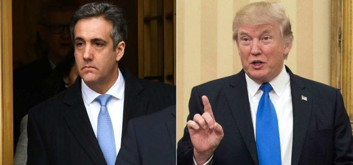 Sein Ex-Anwalt Cohen (l.) macht Trump nicht mehr die Mauer.