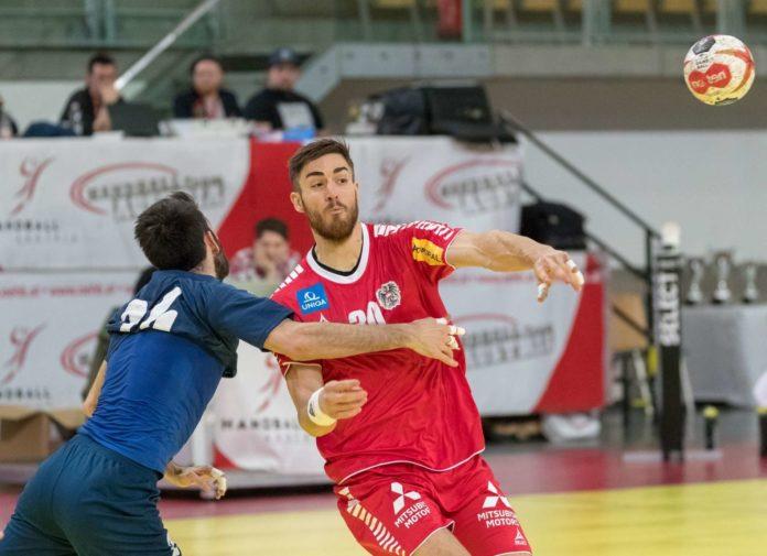 Boris Zivkovic (r.) ist heute mit Österreich zum Auftakt der Handball-WM gleich gefordert.