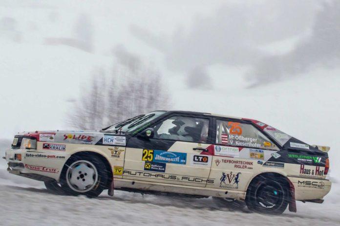 Markus Ossberger und Viktoria Kiesenhofer hatten ihren Spaß im Schnee und beim Helfen.