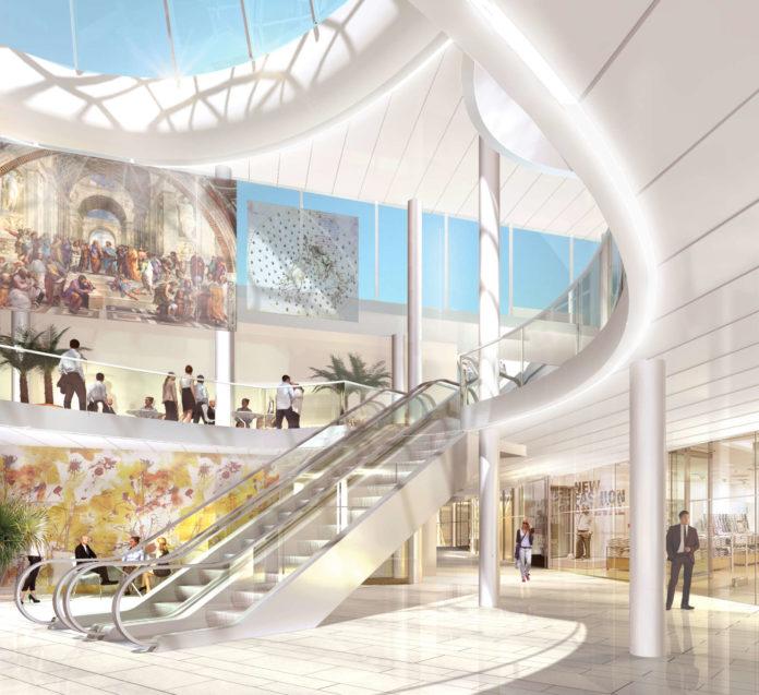 Neuer Außenauftritt und Geschäfte-Wechsel: In der Arkade am Taubenmarkt erfolgt eine komplette Neugestaltung, in der Lentia City in Urfahr wurde und wird die Shopstruktur verändert.