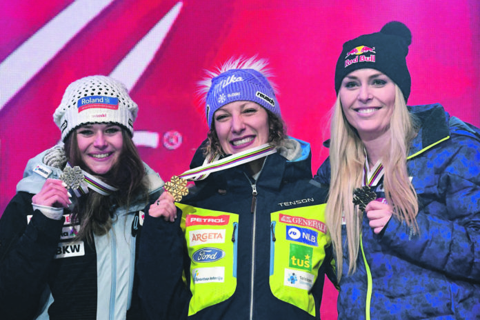 ALPINE SKI-WORLD-WOMEN-SWE-DOWNHILL