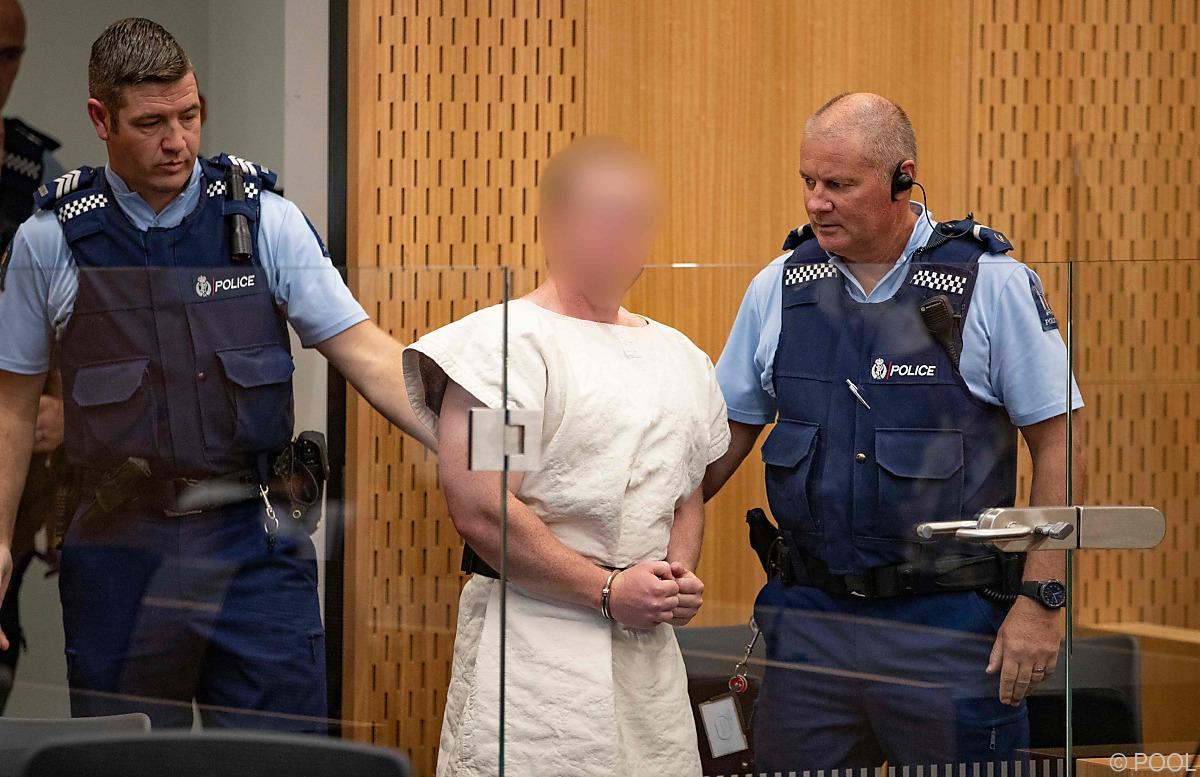 Mutmaßlicher Christchurch-Attentäter verteidigt sich selbst