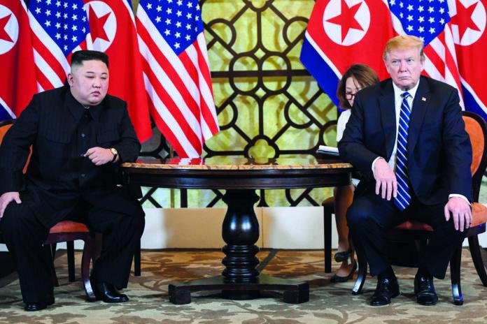 Ergebnislos: Kim und Trump fanden trotz emotionaler Nähe nicht zusammen.