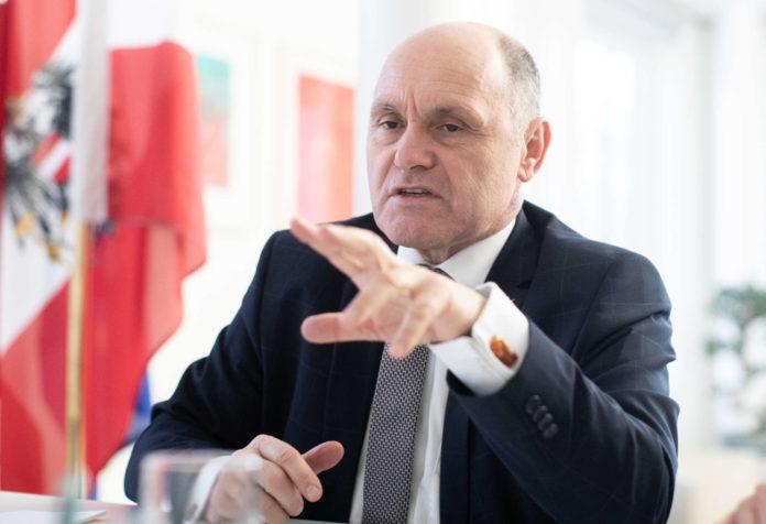 Nationalratspräsident Wolfgang Sobotka (ÖVP).