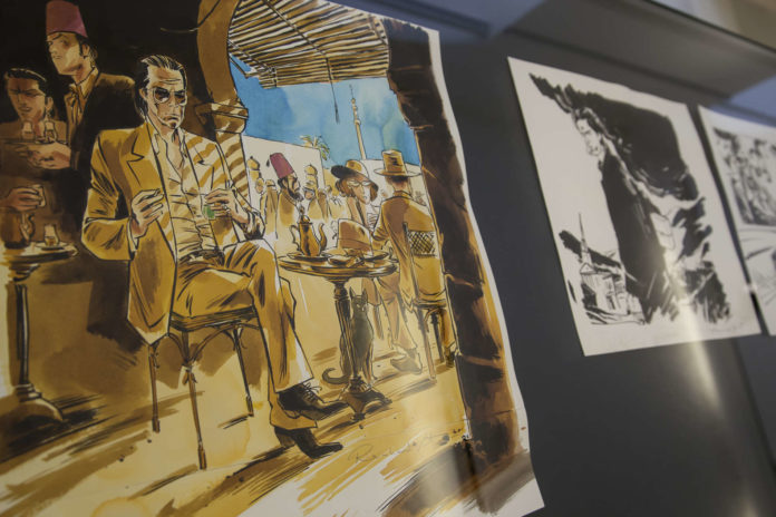 "Reinhard Kleists stilvolle Graphic Novel-Ausstellung ""Nick Cave – Mercy on me"" ist eines der Highlights des diesjährigen Nextcomic-Festivals im Linzer U-Hof."