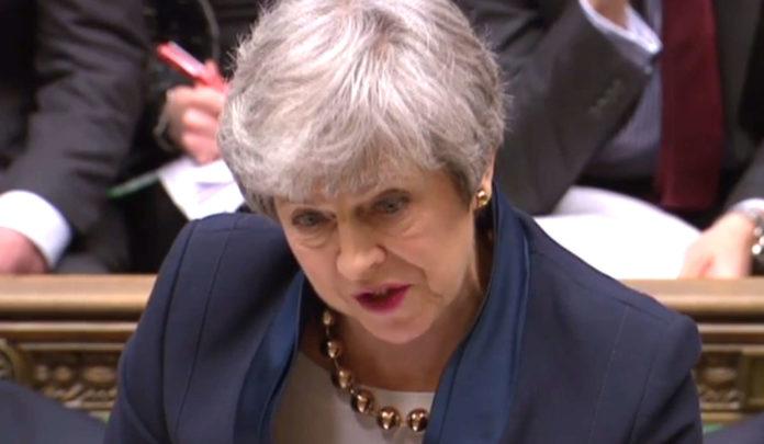 """""""Es ist frustrierend, dass wir diesen Prozess noch nicht erfolgreich und geordnet abgeschlossen haben."""", Theresa May."""
