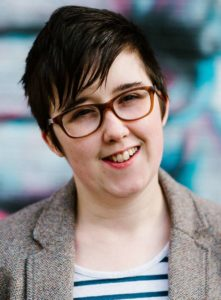 Lyra McKee wurde bei den Unruhen in Londonderry erschossen. © AFP/Lowe