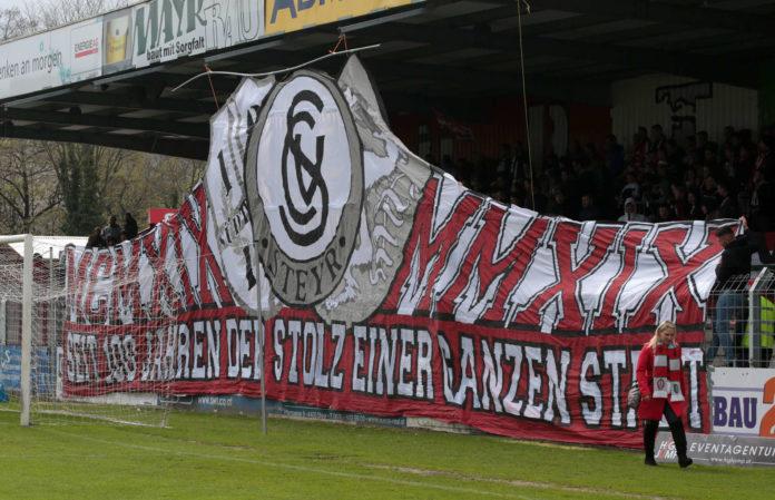 'Der SK Vorwärts Steyr konnte gestern nur den 100. Geburtstag, aber keinen Sieg feiern.