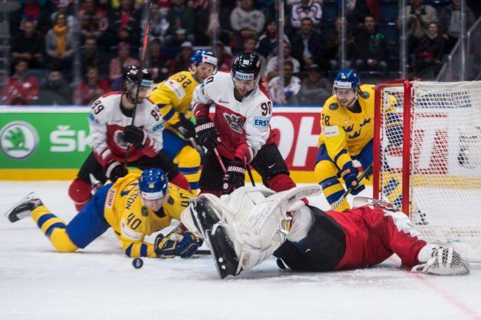 Österreichs Eishockey-Cracks hatten gegen die schwedische Übermacht nichts auszurichten, wurden im ersten Drittel fast überrollt. Gegen Norwegen soll das heute anders aussehen.