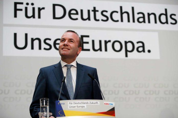Manfred Weber erhebt Anspruch auf die Nachfolge von EU-Kommissionspräsident Juncker.