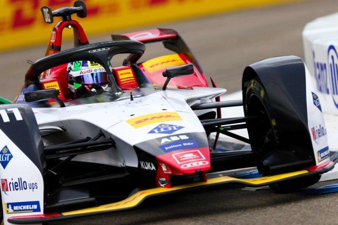 Das Formel-E-Rennen in Berlin wurde eine Beute von Lucas di Grassi — vor den Augen von voestalpine-Boss Wolfgang Eder, der sich über die Entwicklung der Serie in ihrer fünften Saison hocherfreut zeigte.