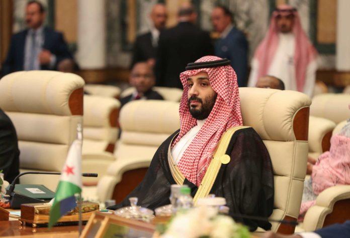 """Mohammed bin Salman sagte, Saudi-Arabien werde nicht zögern, gegen """"jedwede Bedrohung unseres Volks"""" vorzugehen."""