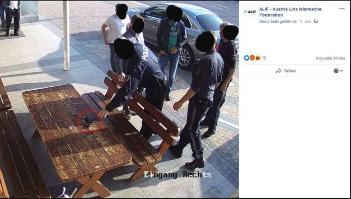 Aufrufe zur Selbstjustiz nach Zwischenfall in Freistädter Moschee auf der Facebook-Seite des Alif-Dachverbandes.