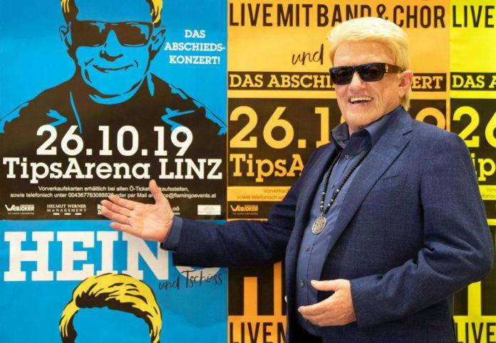Baba Heino: Am 26. Oktober gibt der deutsche Sänger musikalisch noch einmal Vollgas in Linz.