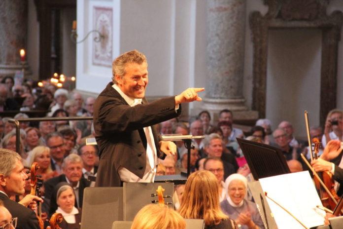 Ein fulminanter Auftritt von Dirigent Markus Poschner