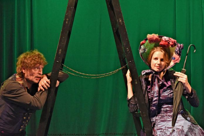 Johannes Krisch und Anna Rieser, die man auch aus dem Linzer Landestheater kennt.