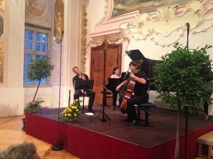 Matthias Schorn, Magda Amara und Matthias Bartolomey