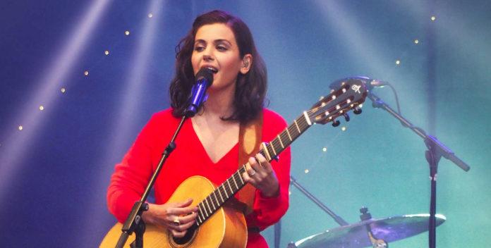 Katie Melua am Linzer Domplatz